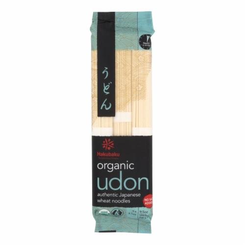 Hakubaku Organic Udon - Case of 8 - 9.52 oz. Perspective: front