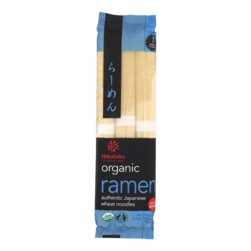 Hakubaku Organic Noodles - Ramen - Case of 8 - 9.52 oz Perspective: front