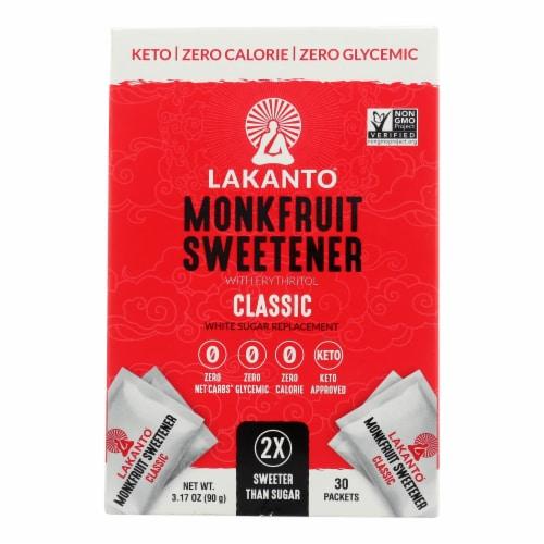 Lakanto - Monkfruit Sweetener - Classic - Case of 8 - 3.17 oz. Perspective: front
