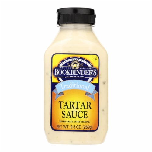 Bookbinder's - Tartar Sauce - Traditional - Case of 9 - 9.5 oz. Perspective: front