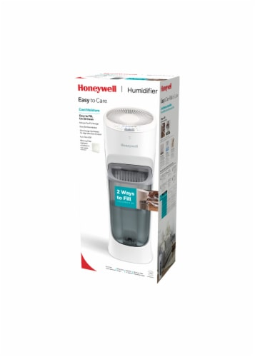 Honeywell Easy to Care Top Fill Cool Moisture Humidifier - White Perspective: front