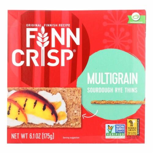 Finn Crisp Crispbread - Thin - Multigrain - 6.2 oz - case of 9 Perspective: front