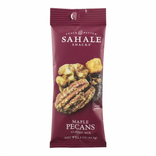 Sahale Snacks Maple Pecans Glazed Mix - Case of 9 - 1.5 OZ Perspective: front