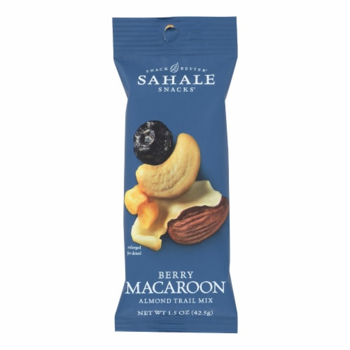 Sahale Berry Macaroon Almond Trail Mix  - Case of 9 - 1.5 OZ Perspective: front