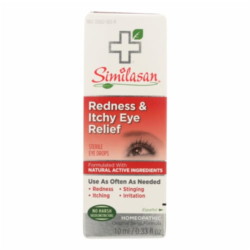 Similasan Redness and Itchy Eye Relief - .33 oz Perspective: front