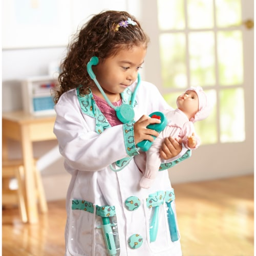 Melissa and Doug® Doctor Role Play Costume Set Perspective: left