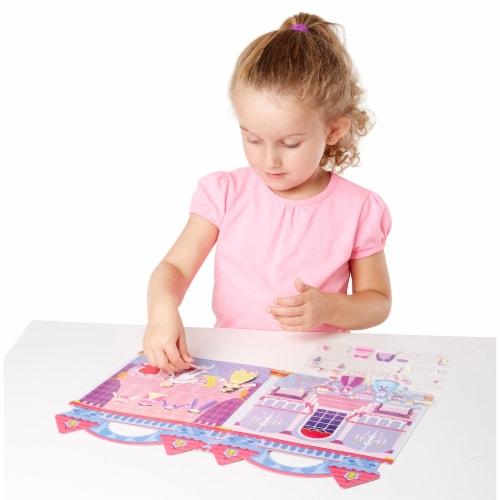 Melissa & Doug® Princess Puffy Sticket Play Set Perspective: left