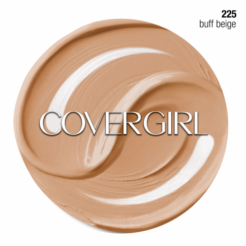 CoverGirl + Olay Simply Ageless 225 Buff Beige Foundation Powder Perspective: left
