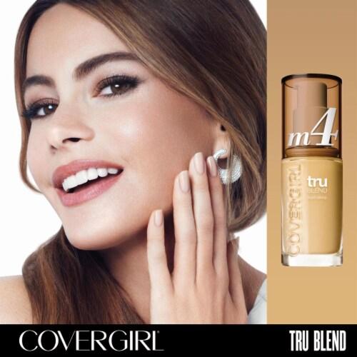 CoverGirl TruBlend Makeup Sand Beige Foundation Perspective: left