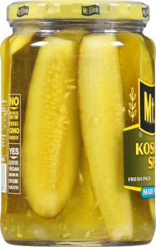 Mt. Olive Kosher Dill Spears Perspective: left