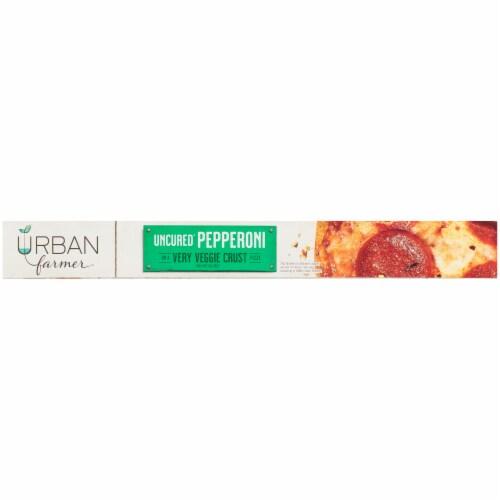URBAN farmer Uncured Pepperoni Very Veggie Crust Pizza Perspective: left