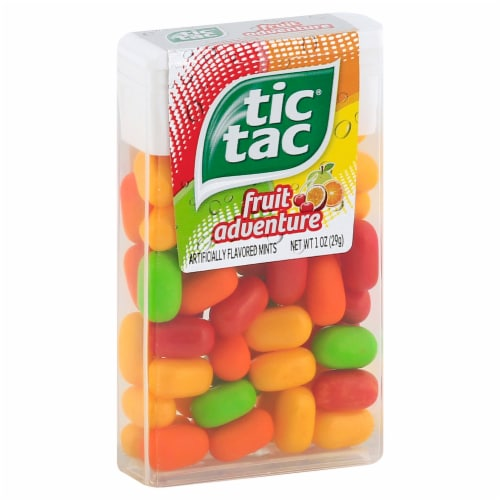 Tic Tac Fruit Adventure Perspective: left