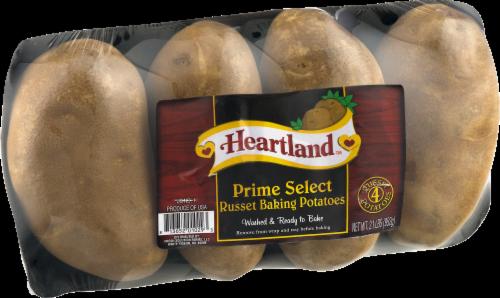 Russet Potatoes Perspective: left