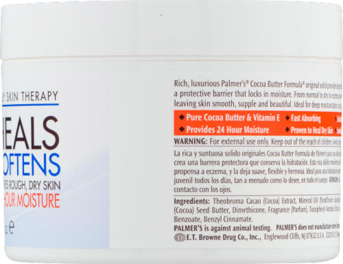 Palmer's Cocoa Butter with Vitamins E Daily Skin Therapy Perspective: left