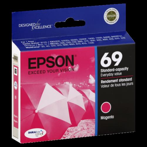 Epson DURABrite® Ultra Ink T069320 Ink Cartridge - Magenta Perspective: left