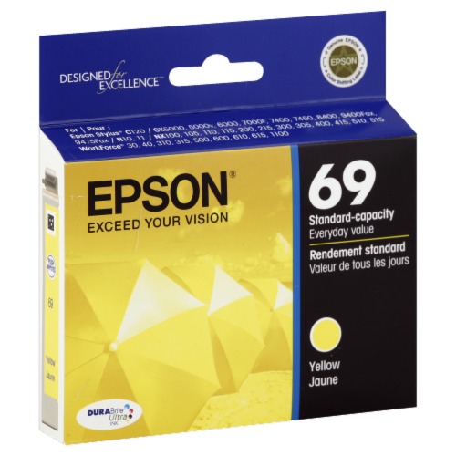 Epson DuraBrite Ultra Ink T069420 Ink Cartridge - Yellow Perspective: left