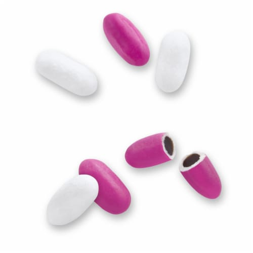 Good & Plenty Licorice Candy Perspective: left
