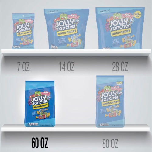 Jolly Rancher Assorted Original Flavors Hard Candy Perspective: left