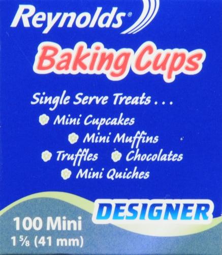 Reynolds Designer Mini Paper Baking Cups Perspective: left