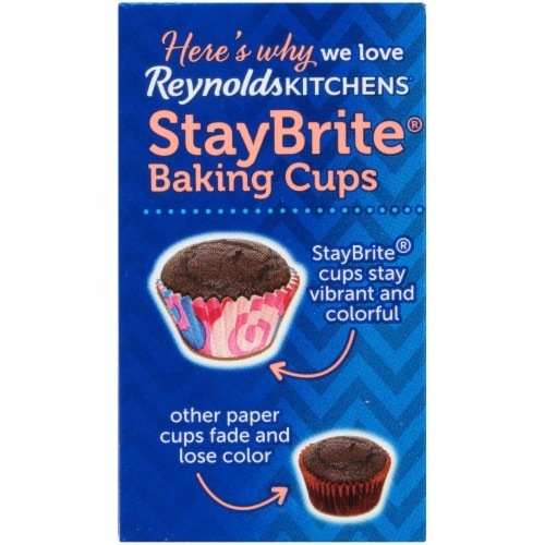Reynolds StayBrite Whimsical Baking Cups Perspective: left
