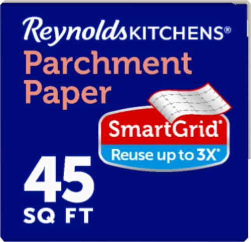 Reynolds Kitchens Parchment Paper Food Wrap Perspective: left