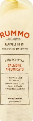 Rummo Farfalle No. 85 Pasta Perspective: left