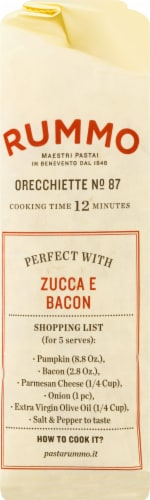 Rummo Orecchiette No. 87 Pasta Perspective: left