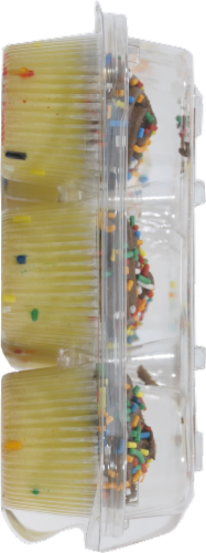 Fairbanks Gold Mini Cupcakes Perspective: left