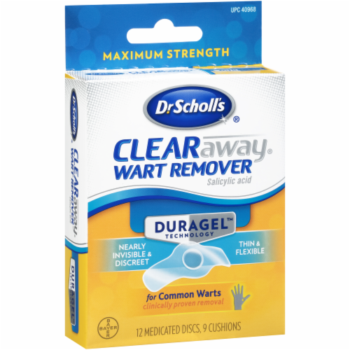 Dr. Scholl's Duragel Clear Away Wart Remover Perspective: left