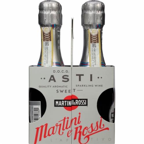 Martini & Rossi White Asti Sparkling Wine Perspective: left