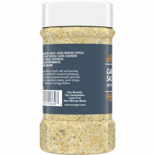 Kroger® California Style Seasoning Blend Garlic Salt Perspective: left