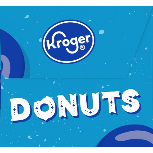 Kroger® Chocolate Coated Cake Donuts Perspective: left