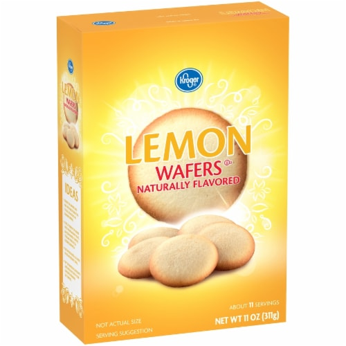Kroger® Lemon Wafers Perspective: left
