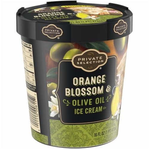 Private Selection Orange Blosson Olive Oil Ice Cream Perspective: left