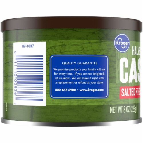 Kroger® Salted with Sea Salt Cashew Halves & Pieces Perspective: left