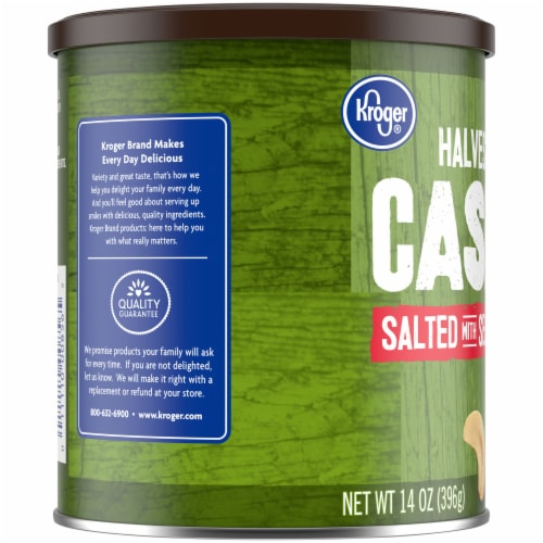 Kroger® Salted Cashews Halves & Pieces Perspective: left