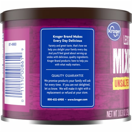 Kroger® Unsalted Mixed Nuts Perspective: left