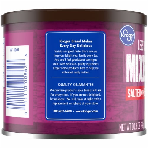 Kroger® Salted with Sea Salt Mixed Nuts Perspective: left