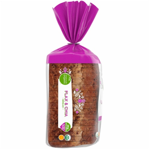 Simple Truth Organic® Flax & Chia Bread Perspective: left