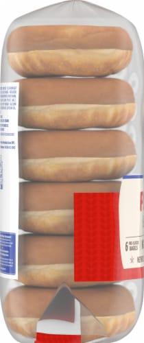 Kroger® Plain Bagels Perspective: left