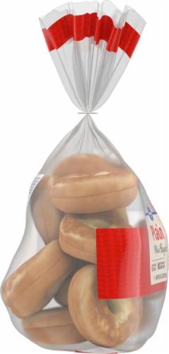 Kroger® Pre-Sliced Plain Mini Bagels Perspective: left