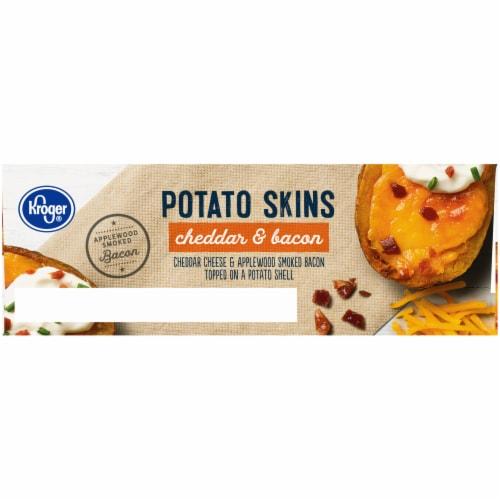 Kroger® Cheddar & Bacon Potato Skins Perspective: left