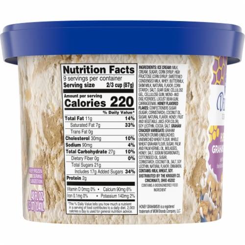 Kroger® Deluxe Honey Graham Cereal Ice Cream Perspective: left