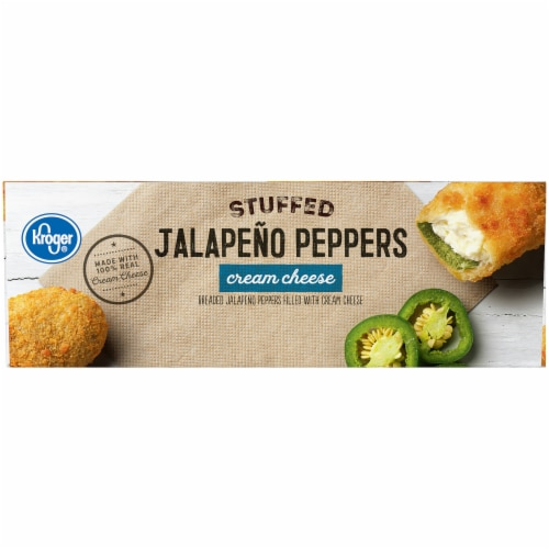 Kroger® Stuffed Cream Cheese Breaded Jalapeno Peppers Perspective: left