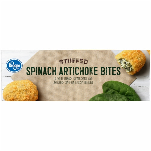 Pay Less Super Markets Kroger Stuffed Spinach Artichoke Bites 28 Oz