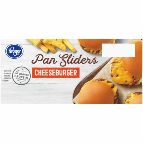 Kroger® Cheeseburger Pan Sliders Perspective: left