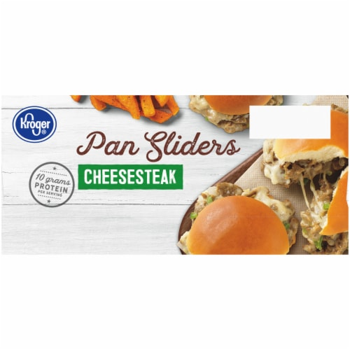 Kroger® Cheesesteak Pan Sliders Perspective: left