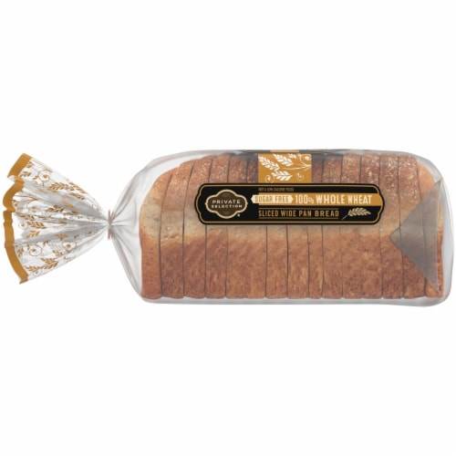 Private Selection® Sugar Free Whole Wheat Sliced Wide Pan Bread Perspective: left