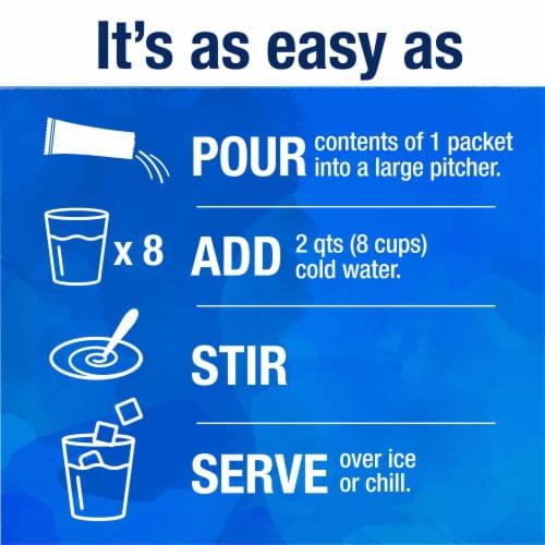 Kroger® Lite Grape Instant Drink Mix Perspective: left