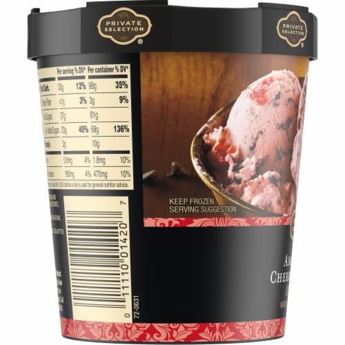 Private Selection® Amaretto Cherry Cordial Ice Cream Perspective: left